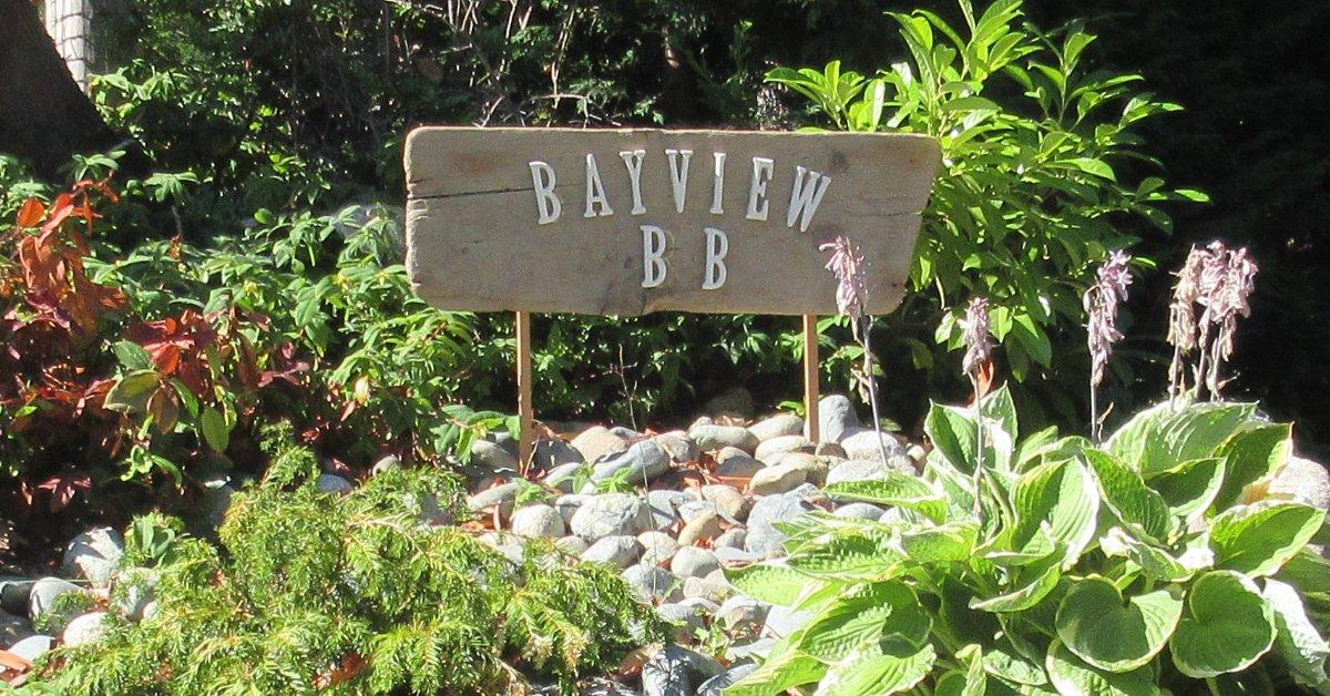 Bayview BB Sign
